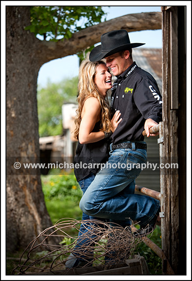 ranch engagement portrait photographer