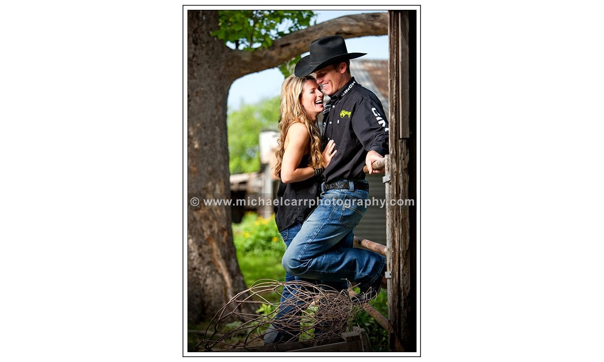 Houston Country Engagement Portraits