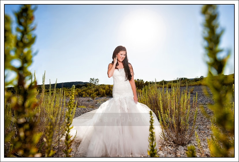 Texas Ranch Bridal Portrait Photography